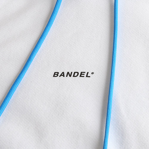 Bandel Collection Line Ghost XL-LOGO Hoodie White/Blue