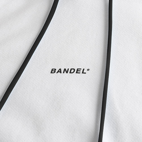 Bandel Collection Line Ghost XL-LOGO Hoodie White/Black