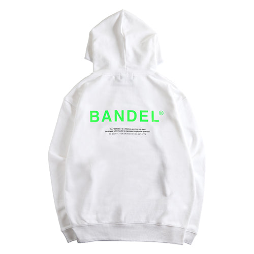Bandel Collection Line Ghost XL-LOGO Hoodie White/Green