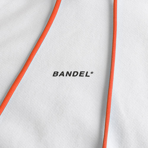 Bandel Collection Line Ghost XL-LOGO Hoodie White/Orange