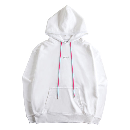 Bandel Collection Line Ghost XL-LOGO Hoodie White/Pink