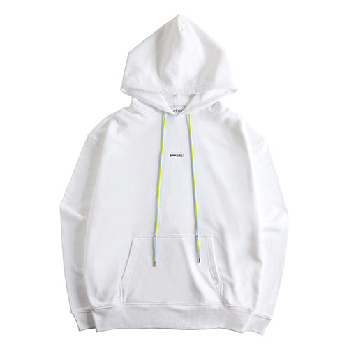 Bandel Collection Line Ghost XL-LOGO Hoodie White/Yellow