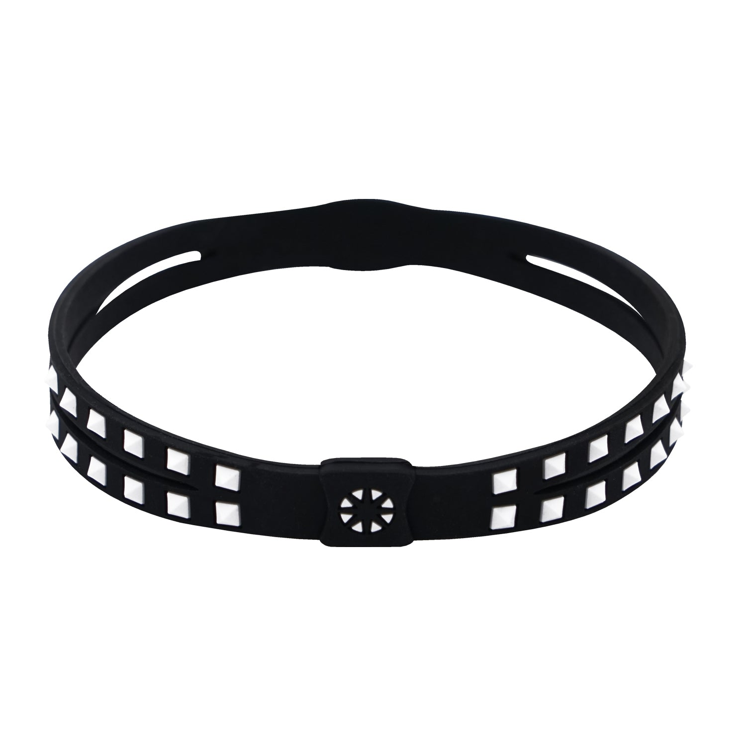 Bandel Studs Series Anklet Black/White
