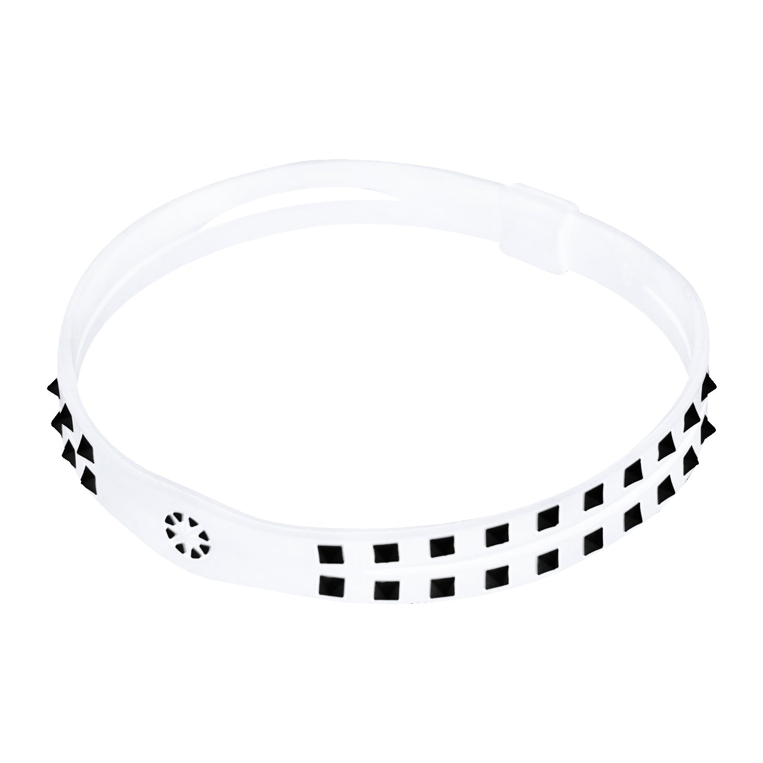 Bandel Studs Series Anklet White/Black