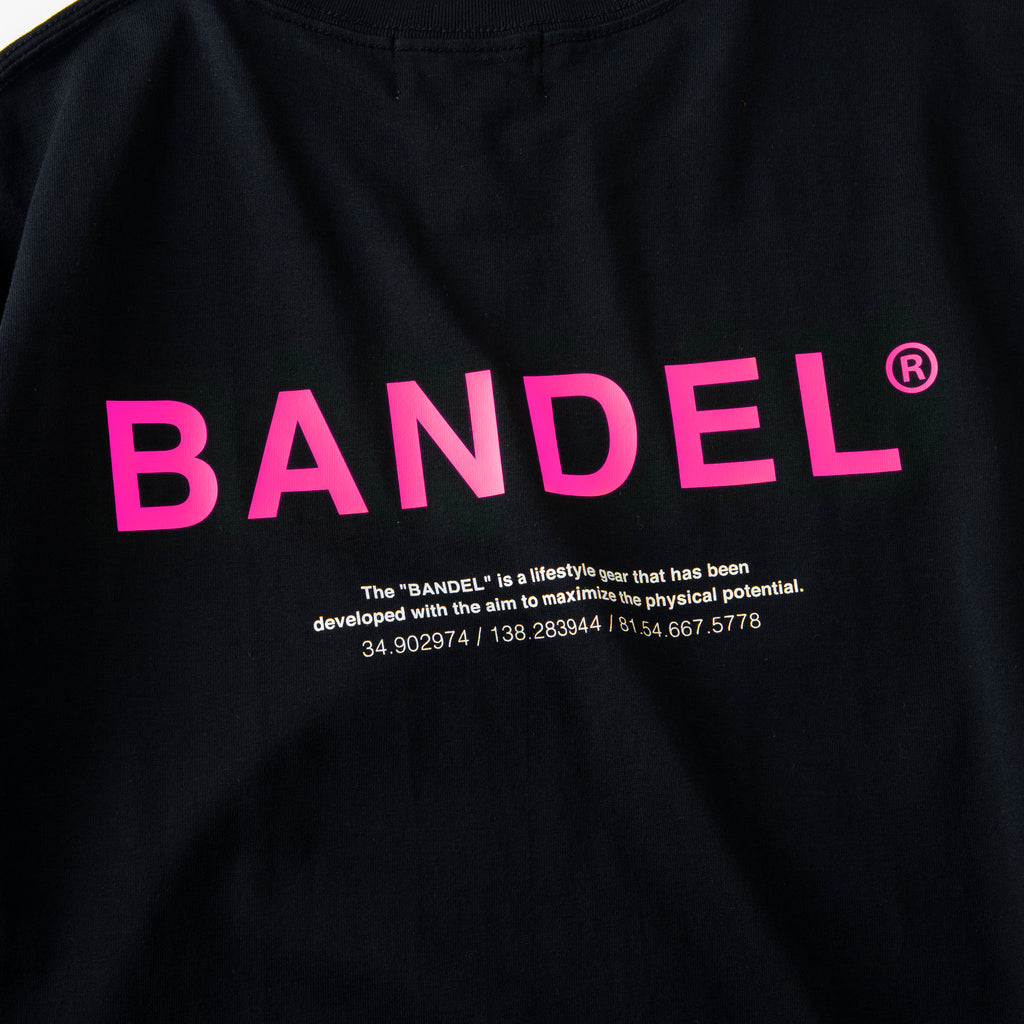 Bandel Collection Line Ghost XL-LOGO Tshirts Black/Pink