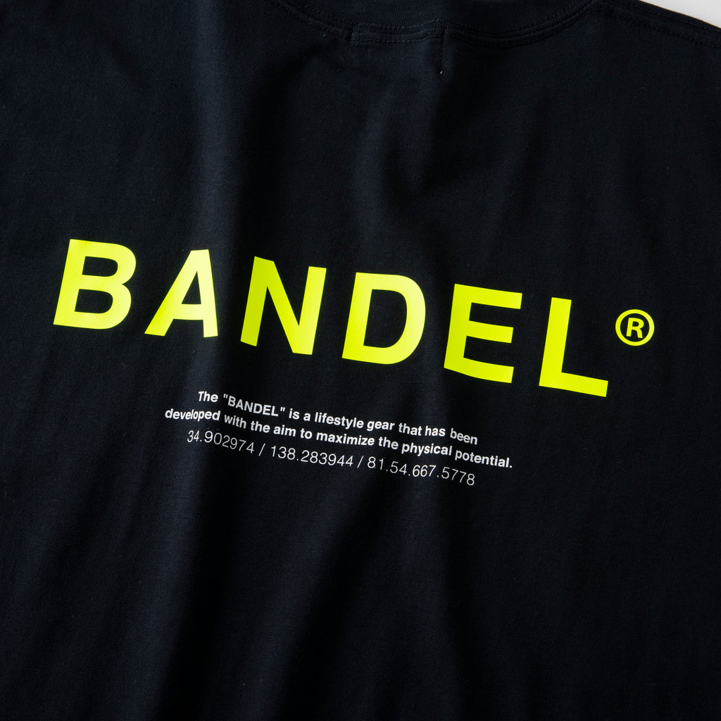 Bandel Collection Line Ghost XL-LOGO Tshirts Black/Yellow