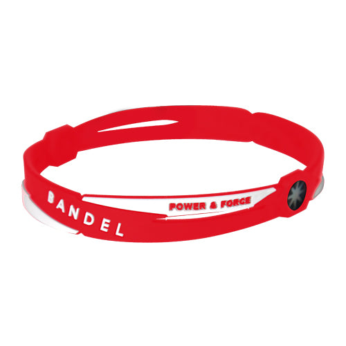 Bandel Cross Series Anklet Red/White