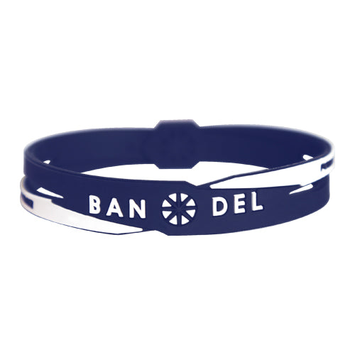 Bandel Cross Series Bracelet Navy/White