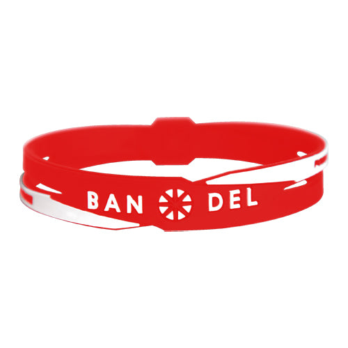 Bandel Cross Series Bracelet Red/White