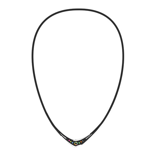 Bandel Cross Series Necklace Multi/Black