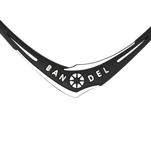 Bandel Cross Series Necklace Black/White