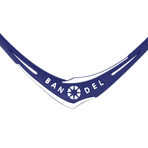 Bandel Cross Series Necklace Navy/White