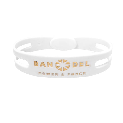 Bandel Metallic Series Bracelet White/Gold