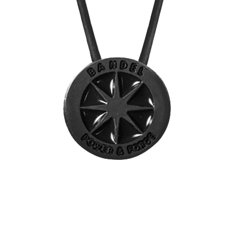 Bandel Metallic Series Necklace Black/Black