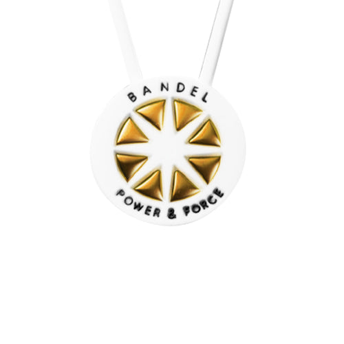 Bandel Metallic Series Necklace White/Gold