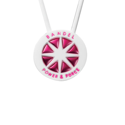 Bandel Metallic Series Necklace White/Pink
