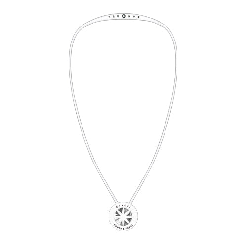 Bandel Metallic Series Necklace White/Silver