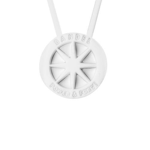 Bandel Metallic Series Necklace White/White