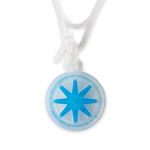 Bandel Collection Line GHOST Necklace 19-04 Blue