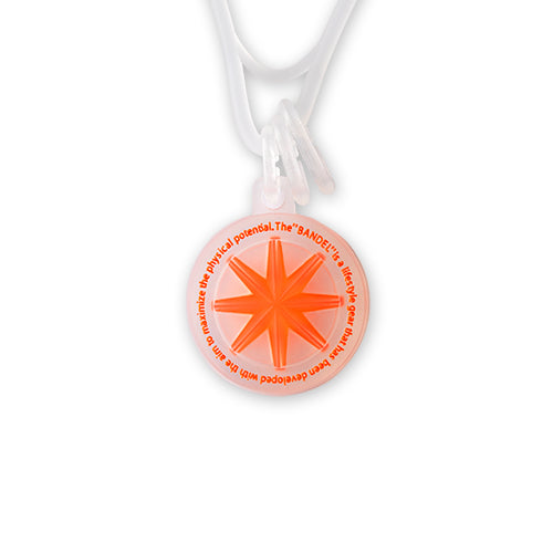 Bandel Collection Line GHOST Necklace 19-04 Orange
