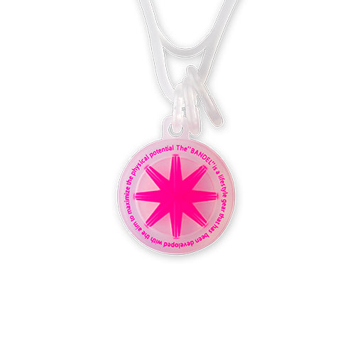 Bandel Collection Line GHOST Necklace 19-04 Pink