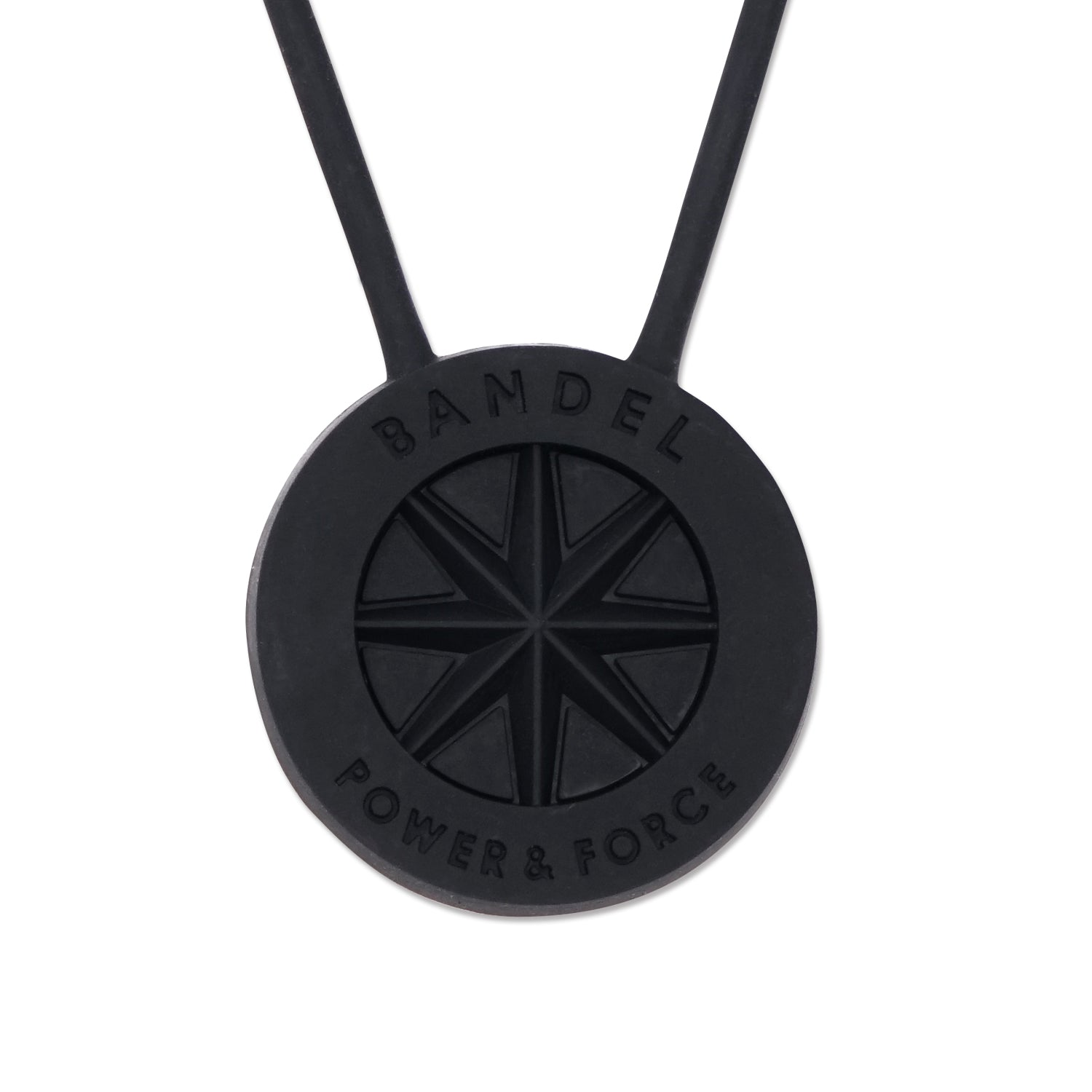 Bandel Studs Series Necklace Black/Black