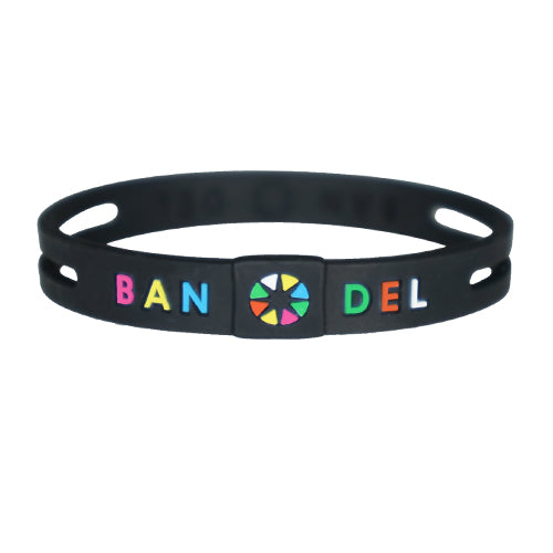 Bandel String Bracelet Multi/Black