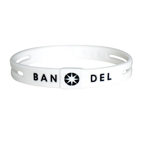 Bandel String Bracelet White/Black
