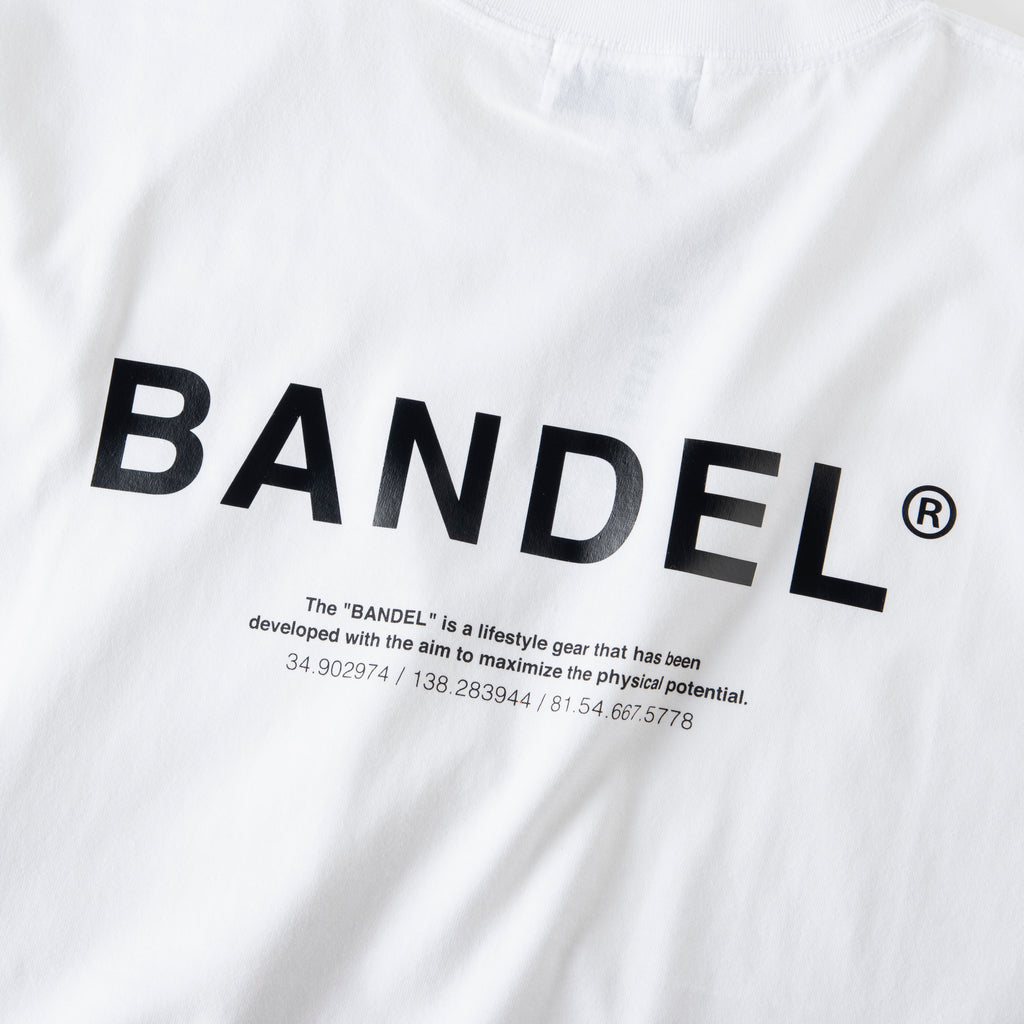 Bandel Collection Line Ghost XL-LOGO Tshirts White/Black