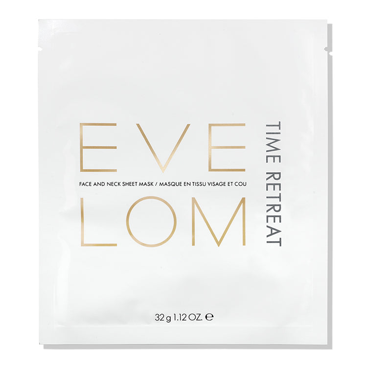 EVE LOM Time Retreat Face and Neck Sheet Mask