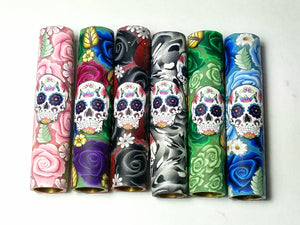 Roses & Sugar Skull Blanks.  You Choose Your Blank Style & Rose Color