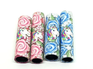 Roses & Unicorns Blanks.  You Choose Your Blank Style & Rose Color