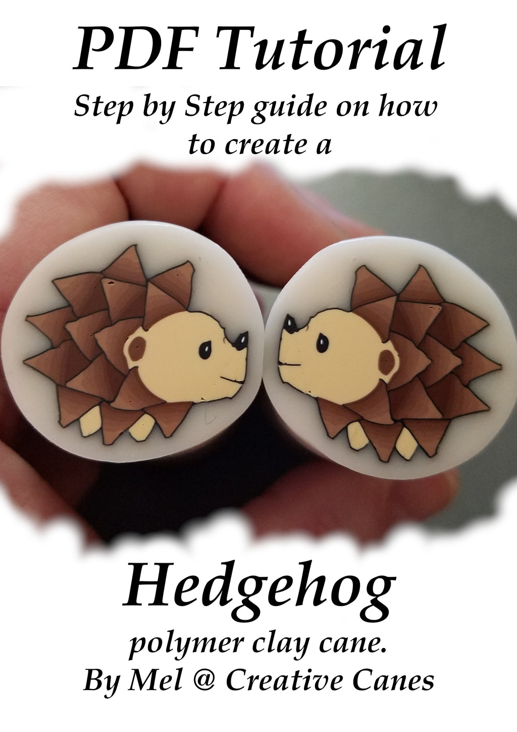 PDF Tutorial, Hedgehog, Digital Download