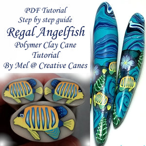 PDF Tutorial, Regal Angelfish, Digital Download