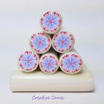 Pastel Flower Cane, Brother, Raw Clay Cane