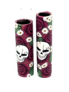 Roses & Skull Blanks.  You Choose Your Blank Style & Rose Color