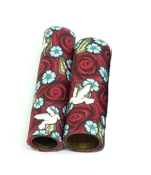 Roses & Peace Doves Blanks.  You Choose Your Blank Style & Rose Color