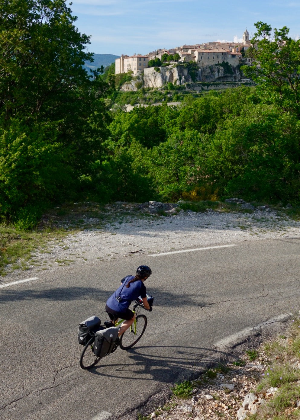 5 Mistakes From My First Self-Supported Bike Tour - Descending into Sault