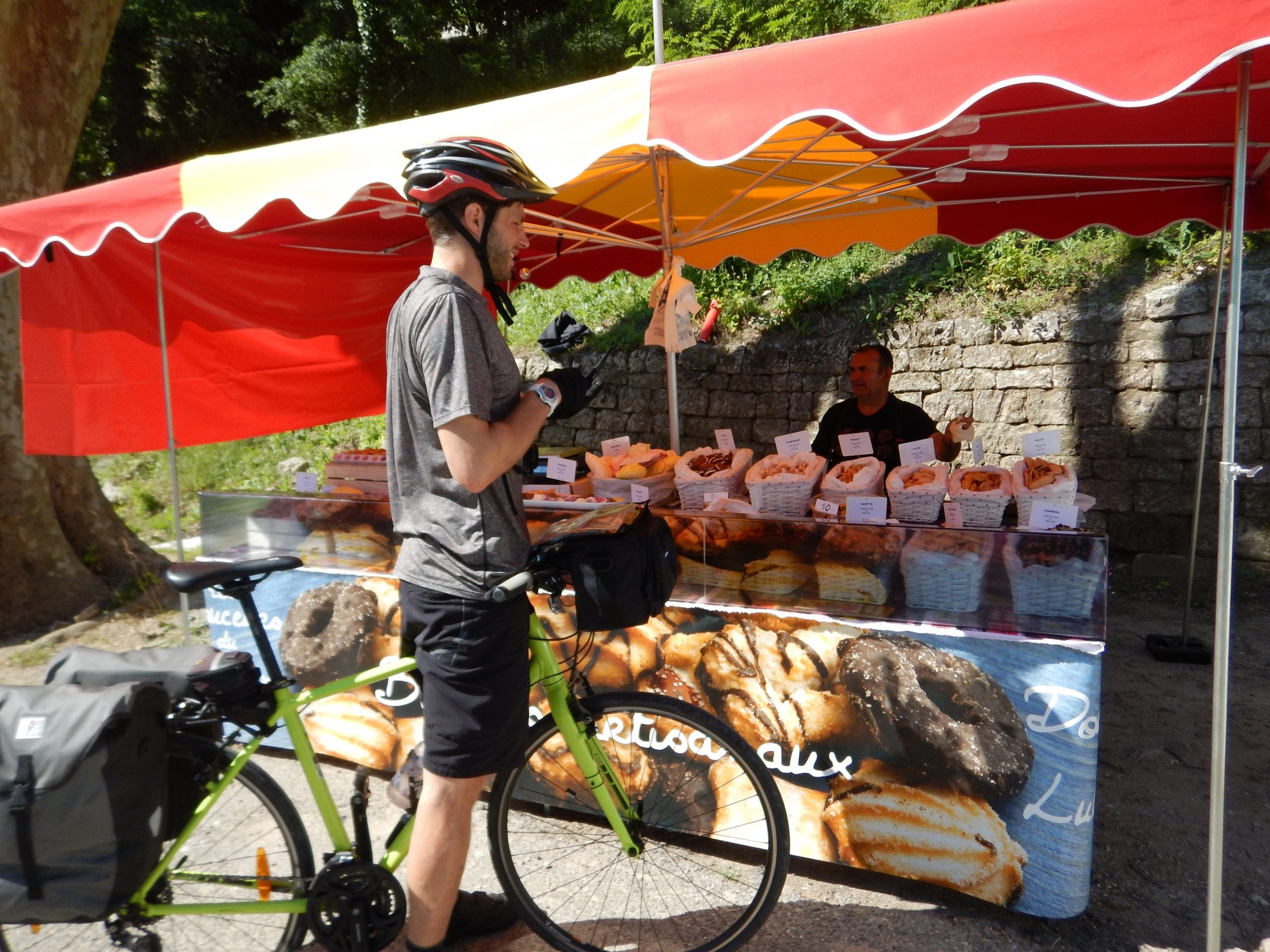 5 Mistakes From My First Self-Supported Bike Tour - Ryan Food Stand