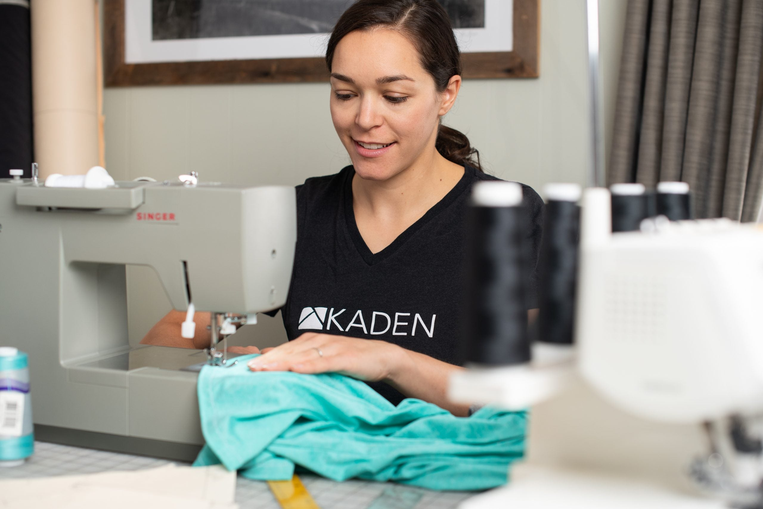 How We Source and Select Our Fabrics For Women's Mountain Bike Apparel - Sewing Prototype