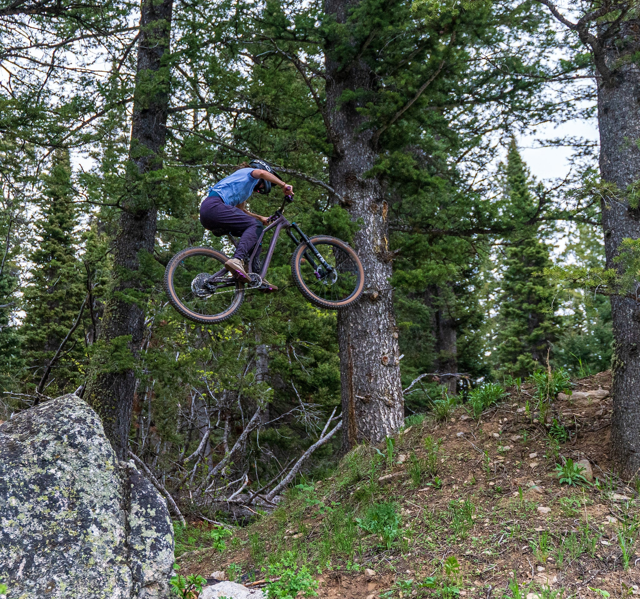 Transition From Competitive Running to Cycling: Rachel Long Interview - Bike Jumping Image