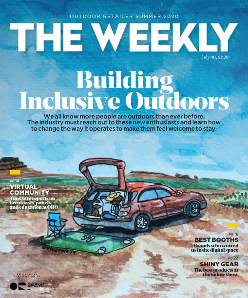 """Gryla 3/4 Sleeve Jersey Featured in """"The Weekly"""" From Outdoor Retailer - The Weekly Cover"""
