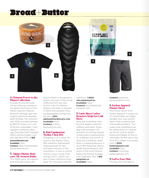 """Pinner Short Featured in """"The Weekly"""" From Outdoor Retailer - Feature Page"""