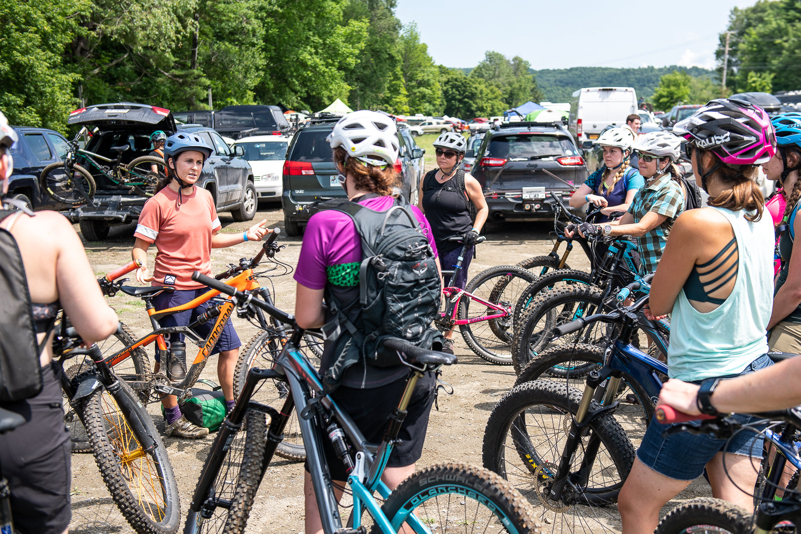 I'm Just Getting Into Mountain Biking, Where Do I Start? - Join a Group
