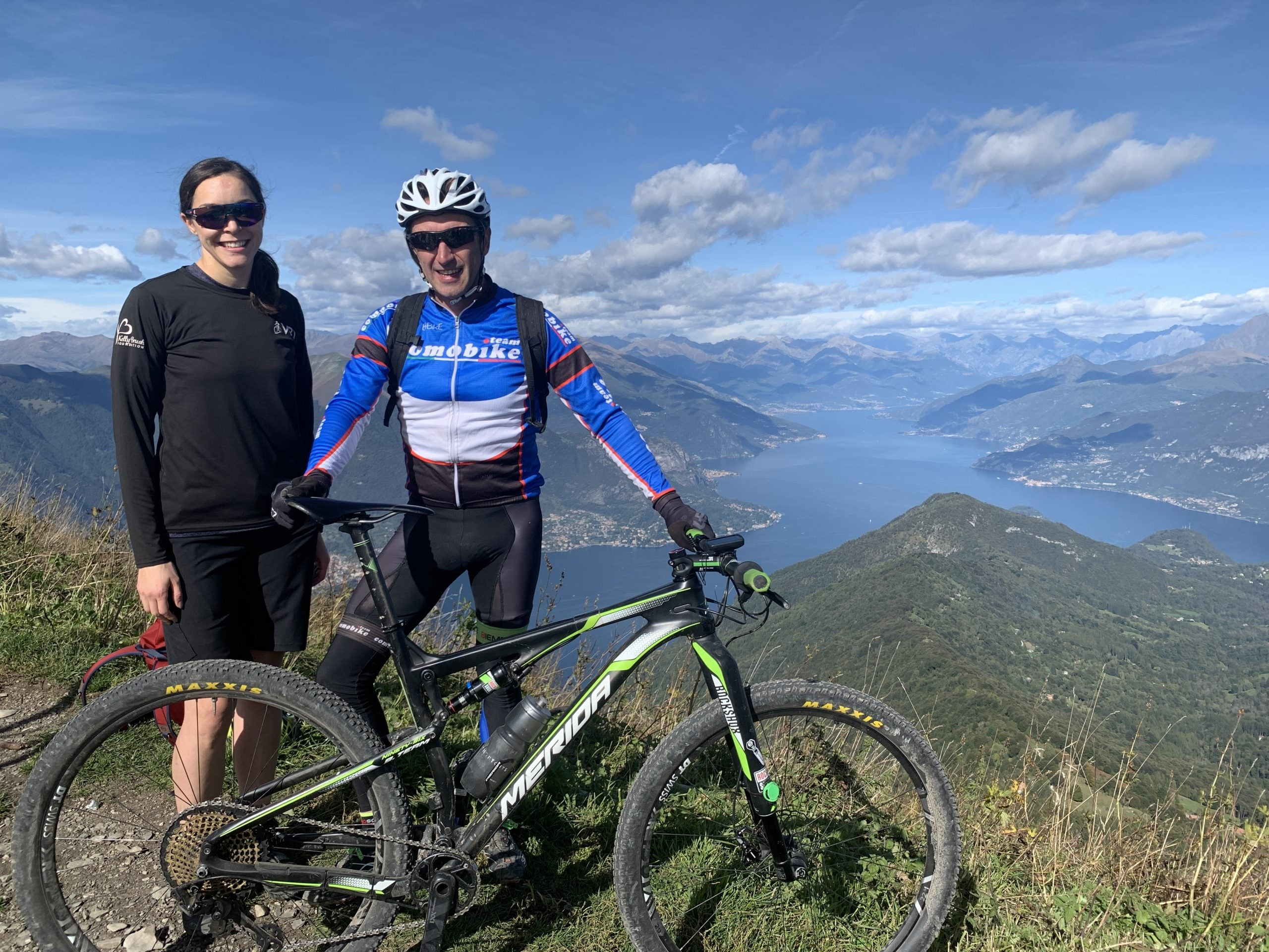 Ride Review: Biking Italy's Lake Como By E-Mountain Bike - Made it to the Top 2