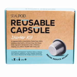 SealPod Reusable Coffee Capsule