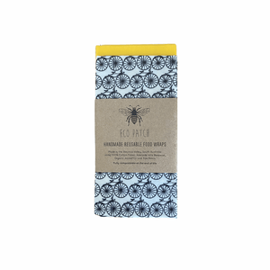 Beeswax Reusable Food Wraps -Twin Large Packs