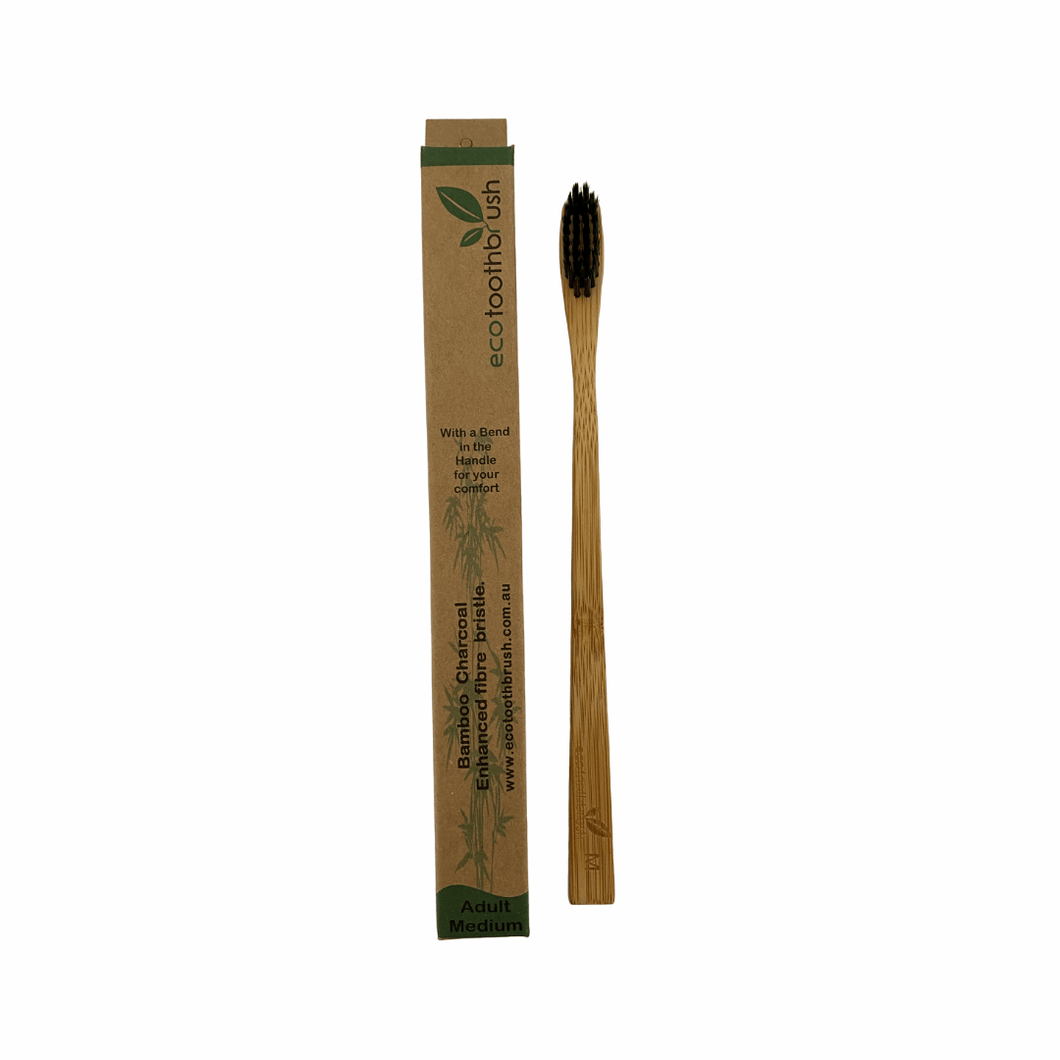 Bamboo Charcoal Bristle Toothbrush