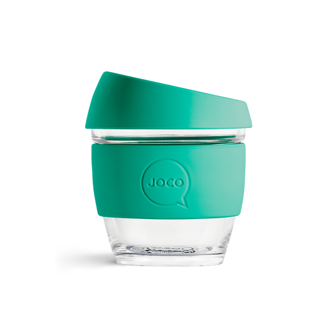 Joco 8oz Reusable Glass Cup