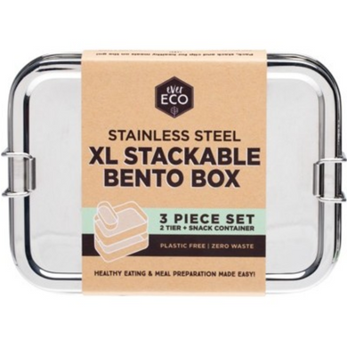 Ever Eco XL Stackable Bento with Mini Container